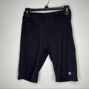 Coolinar UPF 50+ Deep Water Swim Shorts size small